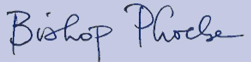 Bishop Phoebe Signature